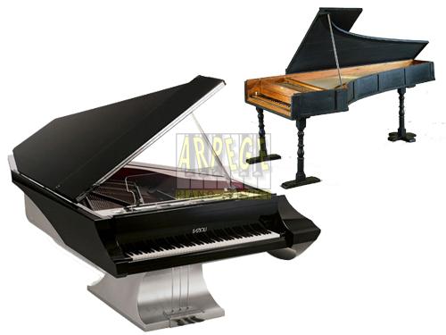 Brève histoire du piano, de son invention à aujourd'hui, les facteurs de piano qui ont contribués à son évolution