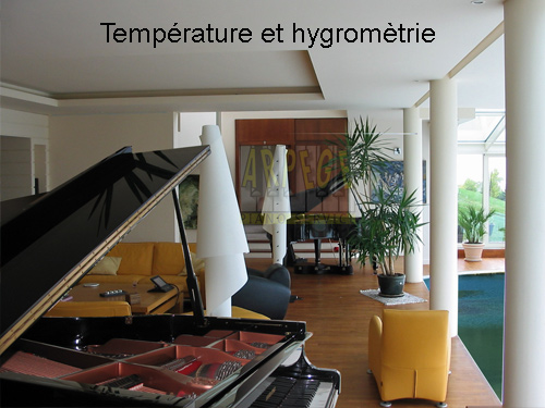 Les conditions optimales d'hygrométrie pour un piano