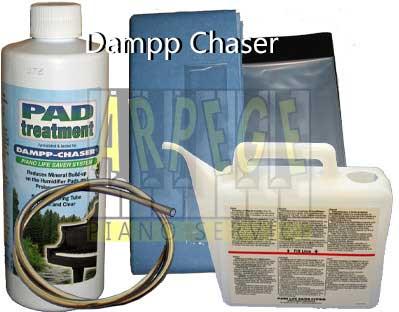 Accessoires pour Dampp Chaser, système de contrôle de l'humidité dans un piano