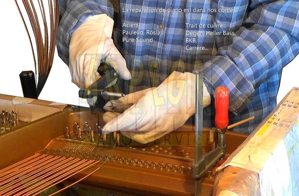 Réparation de piano
