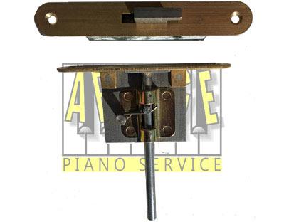 Serrures pour cylindre et couvercle de piano à queue