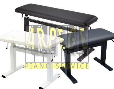 Banquettes hydrauliques pour piano, robustes et silencieuses, idéales pour conservatoires et écoles de musique