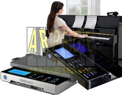Sourdine électronique pour piano, système silencieux numérique, jeu au casque ou avec enceintes