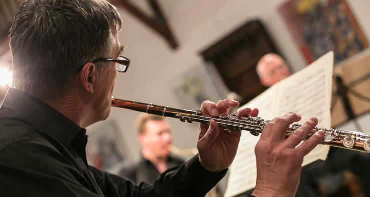 Hubert de Villèle, flûte - Soliste de l'Orchestre National de France
