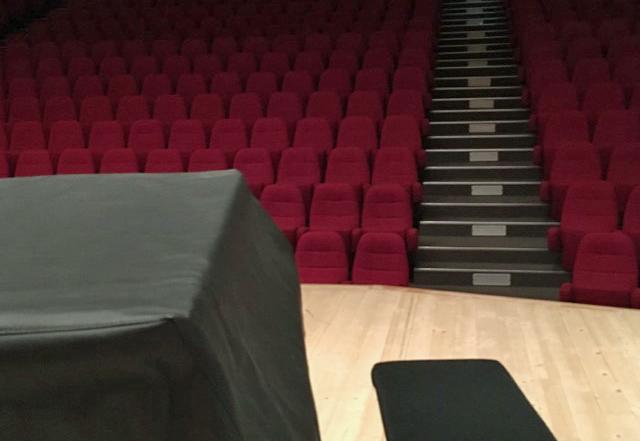 Bel auditorium, belle acoustique, dommage que la notion d'hygrométrie ait été occultée.