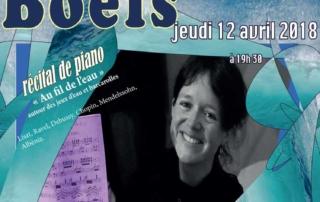 Concert Piano au fil de l'eau, Anne Boëls - Genève