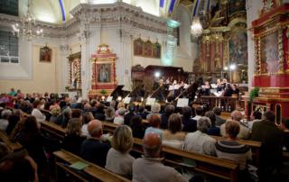 Concerti de bach à Saint Gervais les Bains le 6 août 2018