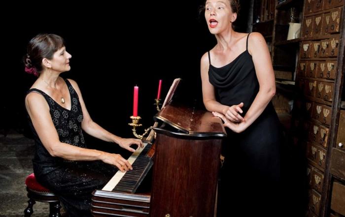 manifestations musicales à La Tanière, variées et estivales. Marcia Hadjimarkos