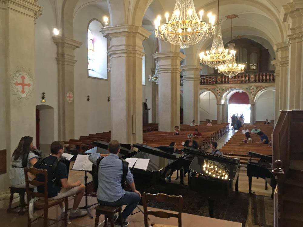 concerti de Bach, musique et patrimoine, Saint Gervais Mont Blanc