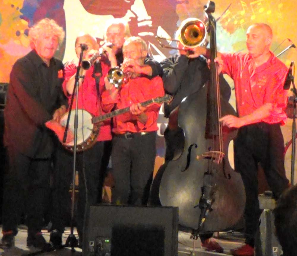 les haricots rouges, musiciens poly-instrumentistes