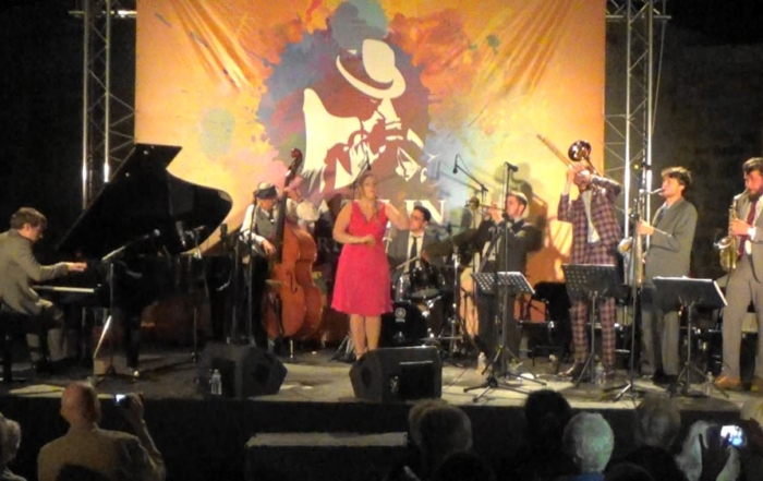 Gaalad Moutoz Swing Orchestra - Jazz in Fort l'Ecluse