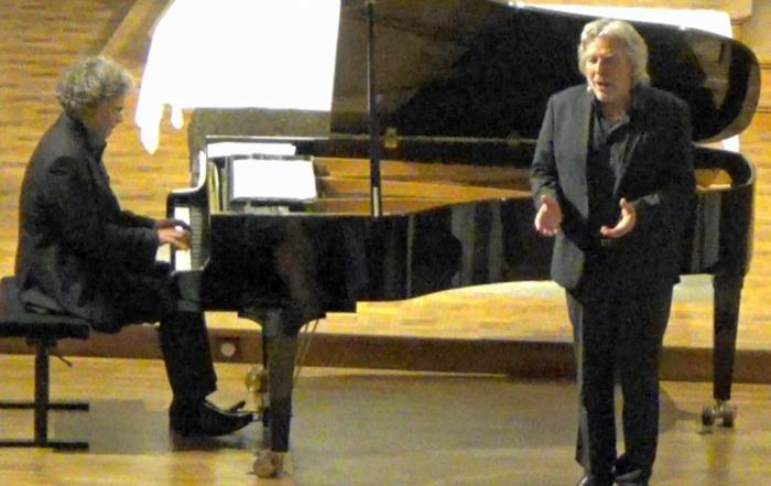 Pascal Amoyel, piano et Alain Carre, récitant : La predication aux oiseaux, Saint Gervais les Bains