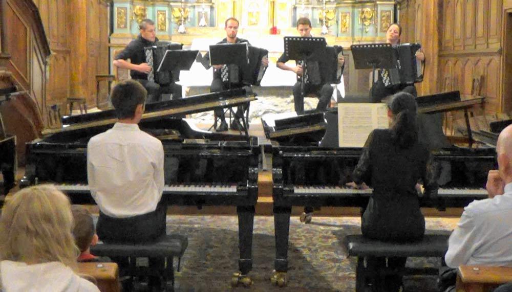 Lina Berrada : Concerto BWV 1055 en LaM pour piano