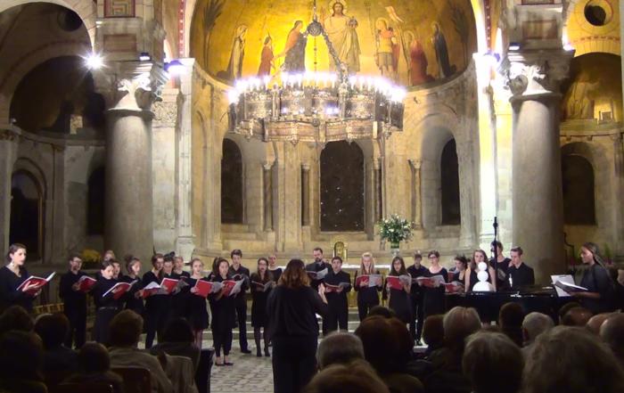 Concert du Camp Chantant 18 à l'Abbaye d'Ainay à Lyon le 17 novembre 2018 à 20h