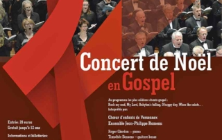 Ensemble jean Philippe Rameau - Concert de Noël Gospel - piano - en Pays de Gex, Ferney Voltaire, Divonne-les-Bains, Versonnex