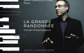 Le 3 janvier 2019,Jean-François Zygel jouera à La Clusaz le 3 janvier 2018