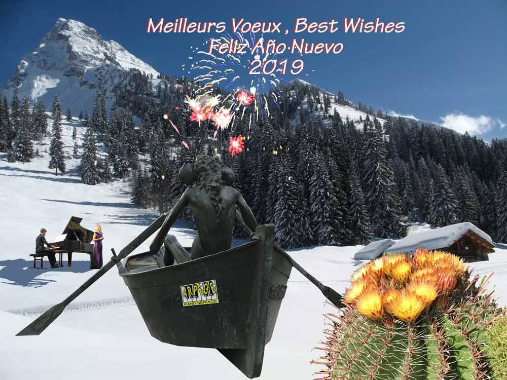 Arpège Piano Service vous présente ses meilleurs vœux pour l'an 2019