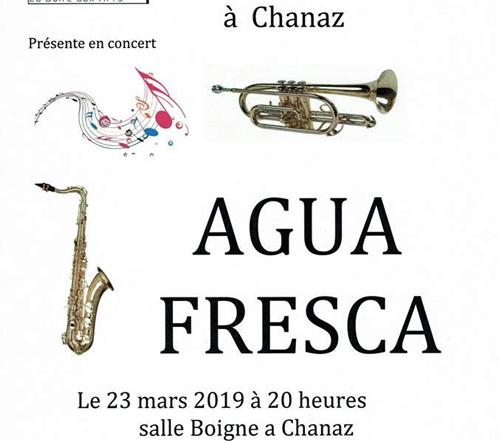 AguaFresca : Jeff Bertoli - Piano, Fabien daviet - Saxs, Vince Lam - Bass, Jimmy Barbier - Drums