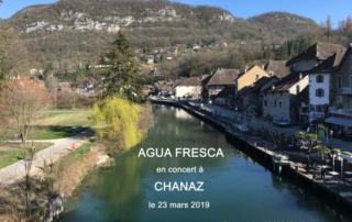 AguaFresca : Jeff Bertoli - Piano, Fabien Daviet - Saxs, Vince Lam - Bass, Jimmy Barbier - Drums - Canal de Savière