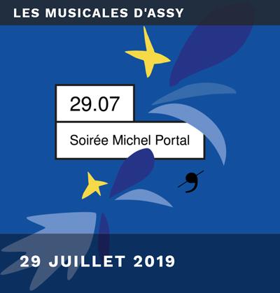 Concert Michel Portal : Musicales d'Assy- juillet 2019