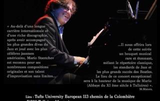 Concert piano solo de Mario Stantchev au Prieuré de talloires le 20 aout 2019 à 19h30