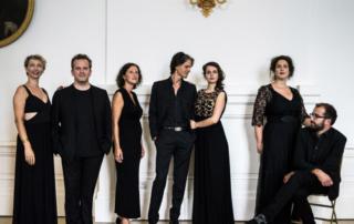 Ensemble contraste en concert à saint Nicolas de Véroce le 5/08/19 lors des rencontres musiques et Patrimoine en Pays du Mont-Blanc
