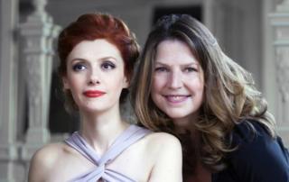 Patricia Petibon, soprano & Susan Manoff, piano : concert Musique et Patrimoine en pays du Mont-Blanc à St Nicolas de Véroce
