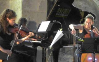 Trio Salmona, concert au Prieuré du Bourget du lac - 73300 le 14 août 2020