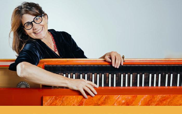 Concert clavicorde-pantalon - Marcia Hadjimarkos les 17 et 18 octobre 71250 - Flagy
