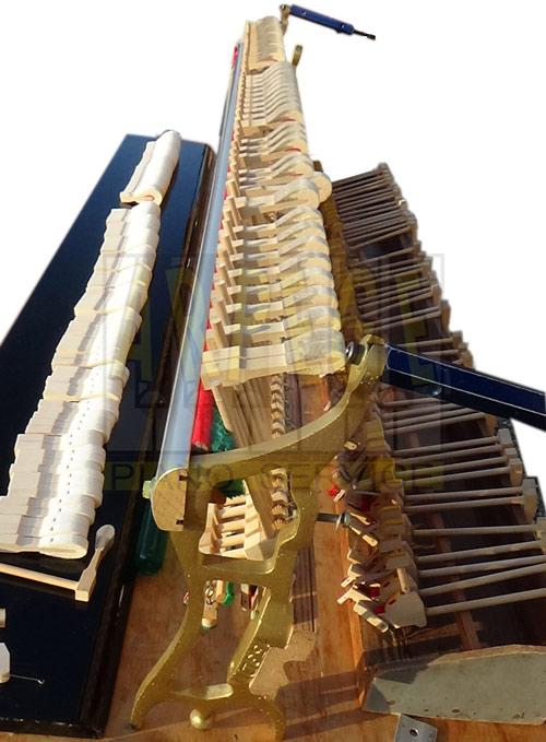 Rénovation de mécanique Renner de piano droit Ibach
